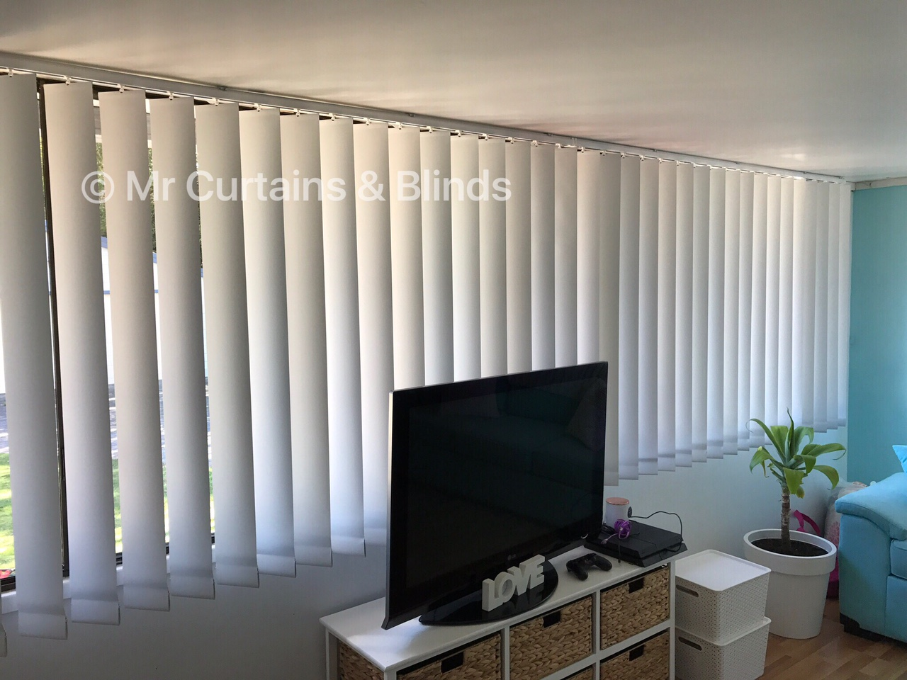 Vertical Blinds Central Coast Mr Curtains And Blinds